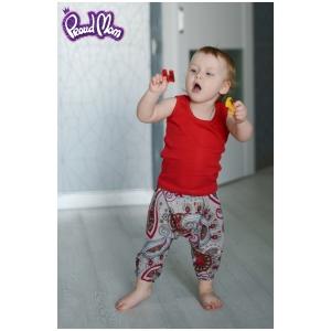 Детская маечка «Легкость бытия» красная