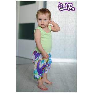 Детская маечка «Легкость бытия» салатовая