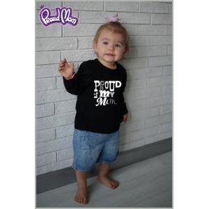 """Детская футболка """"Рок-н-ролл"""" черная"""