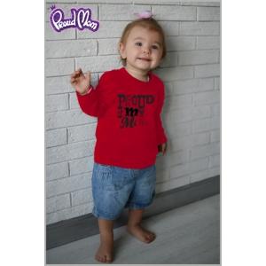 """Детская футболка """"Рок-н-ролл"""" красная"""