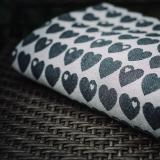 Слинг-шарф Didymos Jacquard Hearts Monochrome
