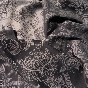 Слинг-шарф Didymos Jacquard Magic Forest Monochrome