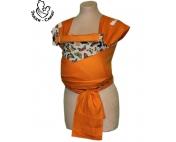 Бабочки оранж май-слинг Тедди слинг